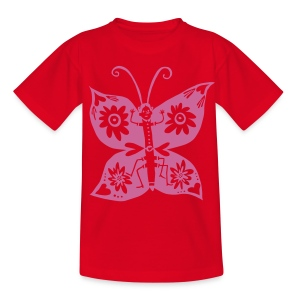 Schmetterling - Kinder T-Shirt