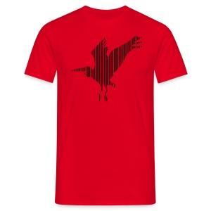 LINE BIRD 034b - Mannen T-shirt