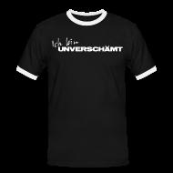 T-Shirts ~ Männer Kontrast-T-Shirt ~ Men-Shirt