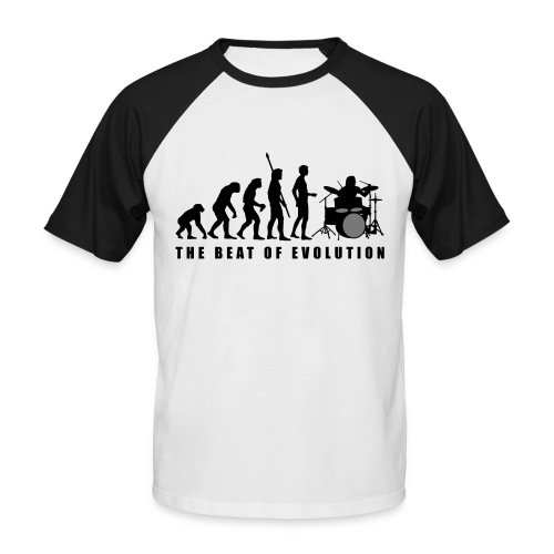 Proevolution Drummer2 - Men's Baseball T-Shirt