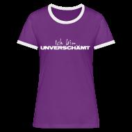 T-Shirts ~ Frauen Kontrast-T-Shirt ~ Women Shirt