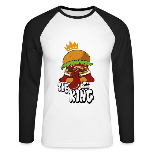Burger - Männer Baseballshirt langarm