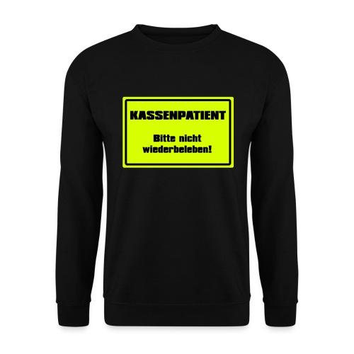 Kassenpatient - Männer Pullover