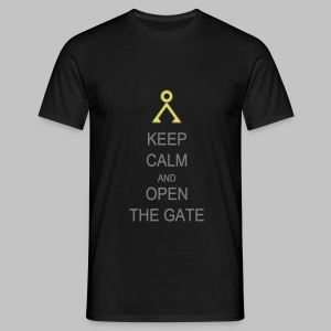 T-shirt Homme (man) Open the gate - Men's T-Shirt