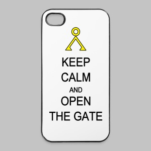 Coque iPhone 4/4S  Open the gate - iPhone 4/4s Hard Case