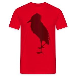 LINE BIRD 036b - Mannen T-shirt