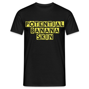 Potential Banana Skin - Men's T-Shirt