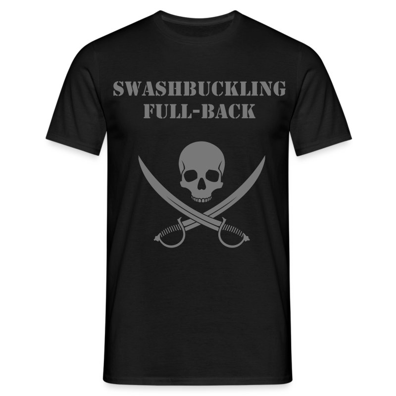 Swashbuckling Full-Back - Men's T-Shirt