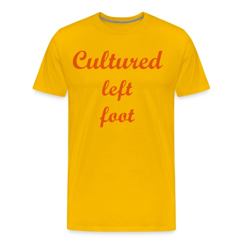 Cultured Left Foot - Men's Premium T-Shirt