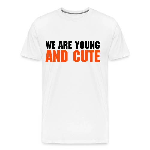 T-Shirt HOMME YOUNG AND CUTE - Modèle 2 - T-shirt Premium Homme