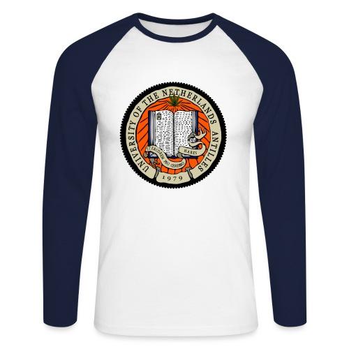 University of the Netherlands Antilles - Maglia da baseball a manica lunga da uomo