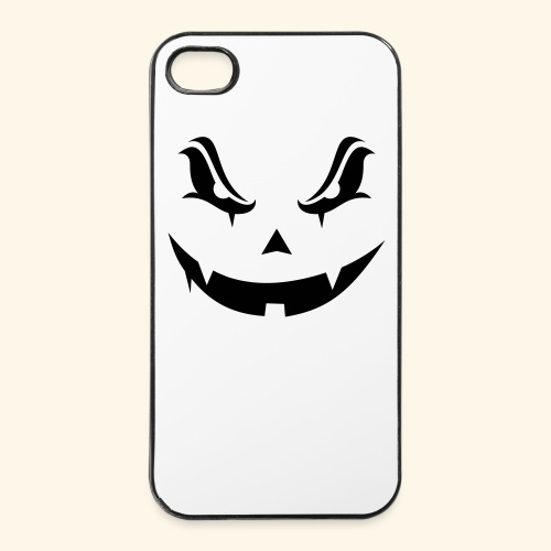 Halloween evil pumpkin - Coque rigide iPhone 4/4s