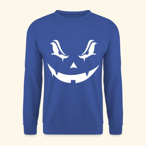 Halloween evil pumpkin - Sweat-shirt Homme