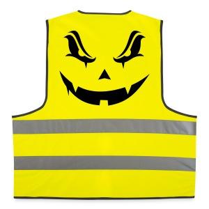 Halloween evil pumpkin - Gilet de sécurité