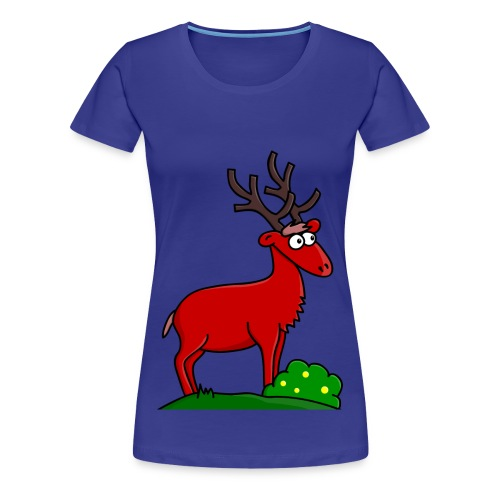 Takki le Cerf for Girls - T-shirt Premium Femme