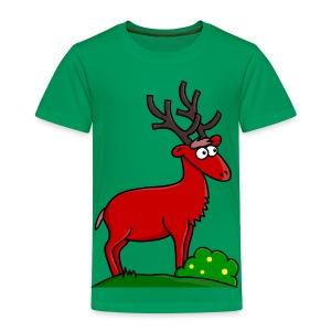 Takki le Cerf for Girls Pour les P'tits - T-shirt Premium Enfant
