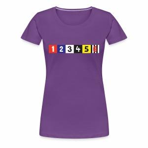 Manttelisarja - Naisten premium t-paita