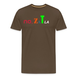 No Zatla (drugs) - T-shirt Premium Homme