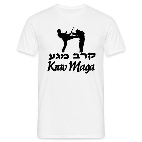 Krav Maga Kick - Men's T-Shirt