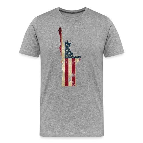 Freiheitsstatue USA - Männer Premium T-Shirt