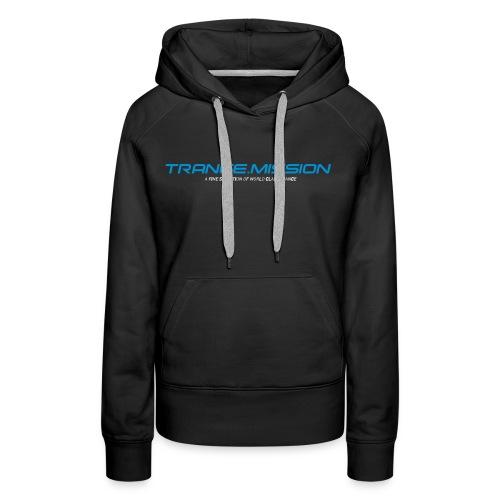 Trance.Mission (w) hoodie (black) - Frauen Premium Hoodie