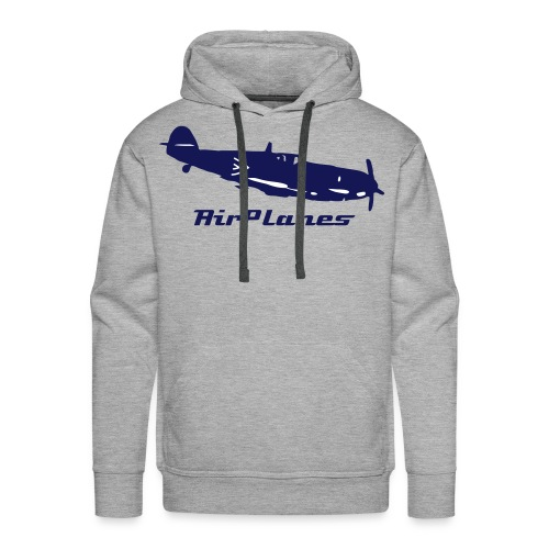 Sweat à capuche AirPlanes/Avion - Sweat-shirt à capuche Premium pour hommes