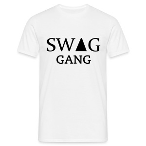 Tee-shirt homme Swag Gang Blanc #Y.N.S.G - T-shirt Homme