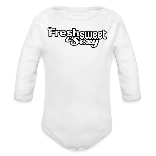 F.S.&.S Baby Grow's - Organic Longsleeve Baby Bodysuit