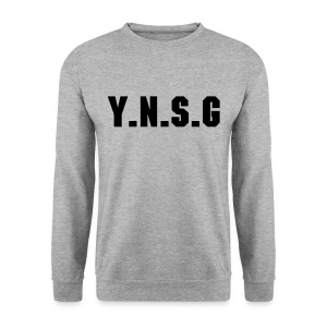 Sweat col rond gris #Y.N.S.G - Sweat-shirt Homme