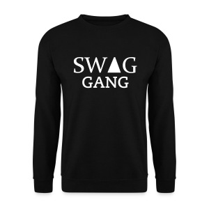 Sweat col rond Swag Gang Noir #Y.N.S.G - Sweat-shirt Homme