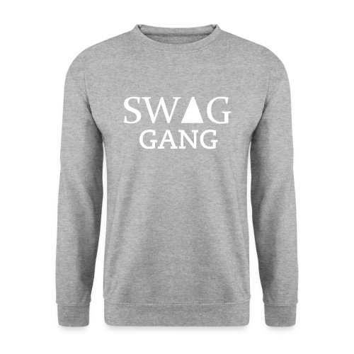 Sweat col rond Swag Gang gris #Y.N.S.G - Sweat-shirt Homme