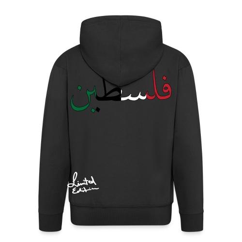 Free Palestina - Männer Premium Kapuzenjacke