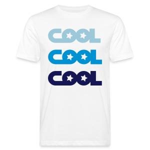 Cool X3 Blue Men White/Blue - Männer Bio-T-Shirt