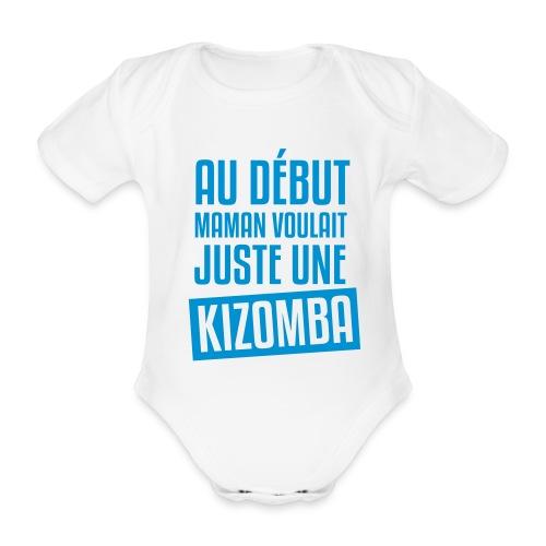 Boby Kizomba (garçon) - Body bébé bio manches courtes