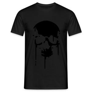 Wet Skull - Men's T-Shirt