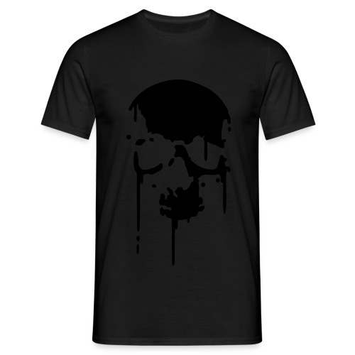 Wet Skull - Men's T-Shirt