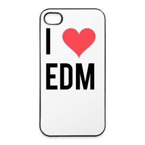 I Heart EDM iPhone4/4s Case - iPhone 4/4s Hard Case