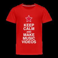 Shirts ~ Kids' Premium T-Shirt ~ Keep Calm - Kids' Tee