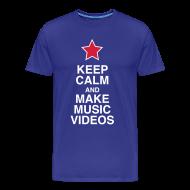 T-Shirts ~ Men's Premium T-Shirt ~ Keep Calm - Men's Tee