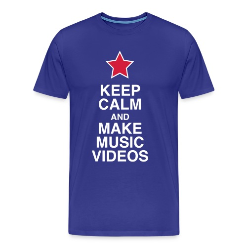 Keep Calm - Men's Tee - Men's Premium T-Shirt