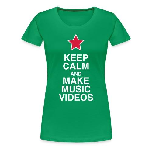 Keep Calm - Women's Tee - Women's Premium T-Shirt