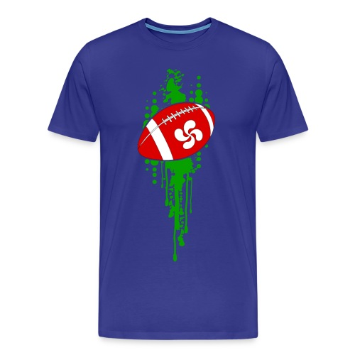 rugby sport basque - T-shirt Premium Homme