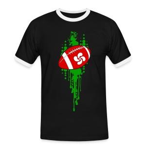 rugby sport basque - T-shirt contrasté Homme