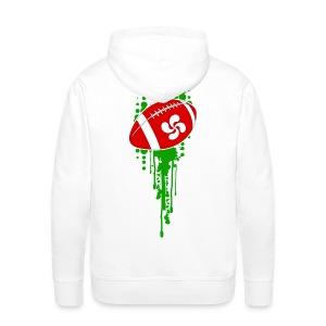 rugby sport basque - Sweat-shirt à capuche Premium pour hommes
