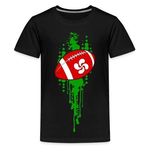 rugby sport basque - T-shirt Premium Ado