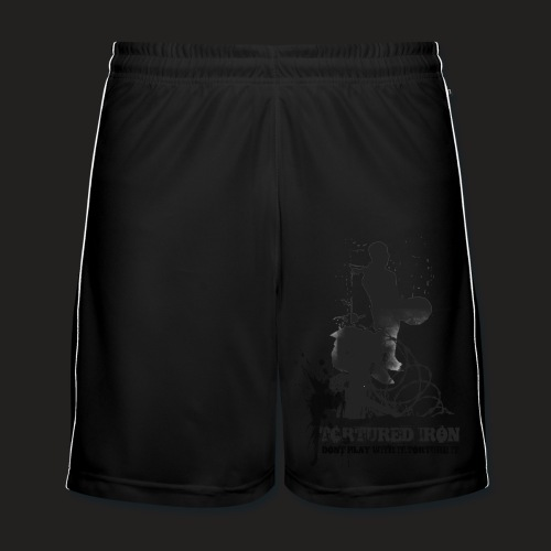 DEADLIFT logo SHORTS - Men's Football shorts