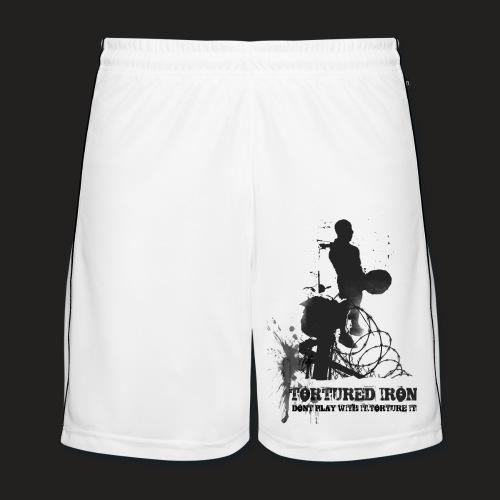 DEADLIFT logo SHORTS - Men's Football shorts