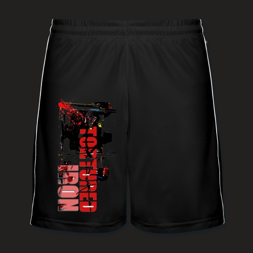 SQUAT LOGO SHORTS - Men's Football shorts