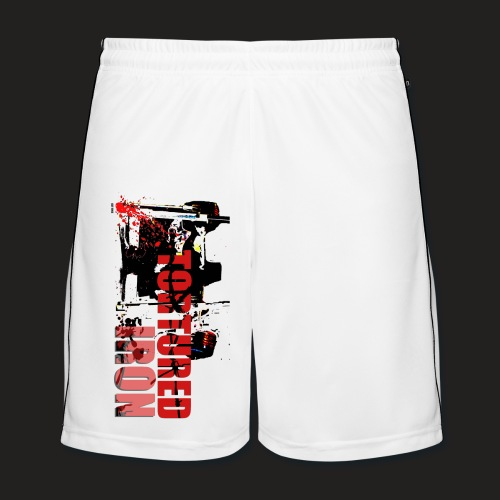SQUAT LOGO SHORTS - Men's Football shorts