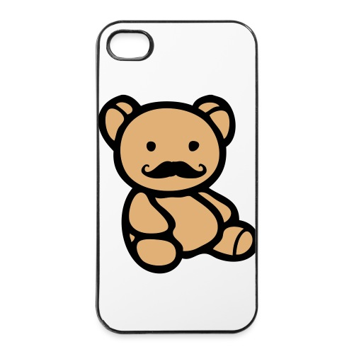 Posh Teddy - iPhone 4/4s Hard Case